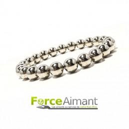 Bracelet magnétique-billes...