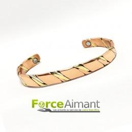 Bracelet cuivre magnétique