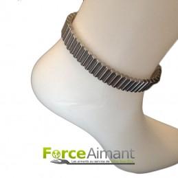 Bracelet cheville métal
