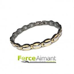Bracelet magnétique Azur