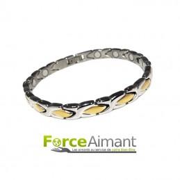 Bracelet magnétique Goutte