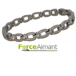Bracelet magnétique strass