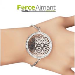 Bracelet fleur de vie et...