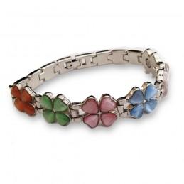 Bracelet magnétique - Trèfles